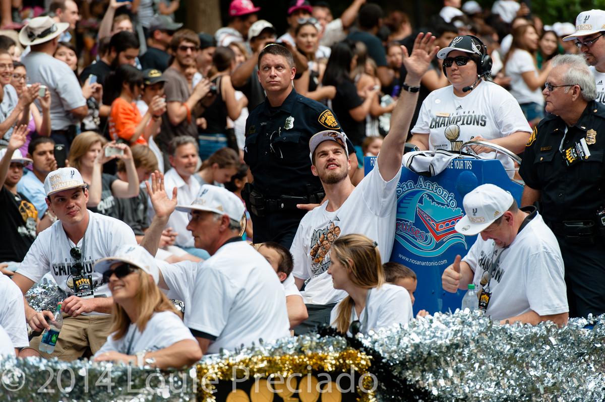 Spurs Parade